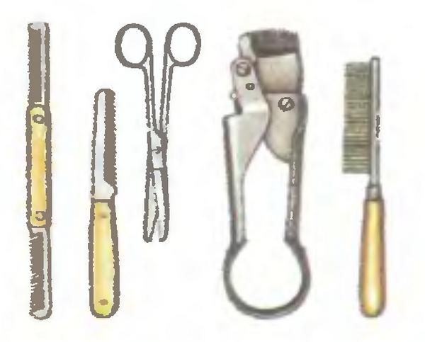 Инструменты для тримминга.